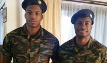 """Greek Freak"" Giannis Antetokounmpo Reports for Mandatory Military Service in Greece (Pic)"