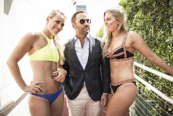 indsey vonn pre-espys rooftop pool party  jeremy piven