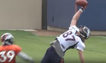 Jordan Taylor With The Training Camp Catch of The Year (Video)