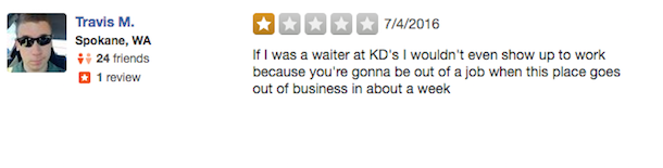 kevin durant yelp review 3