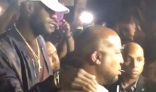 LeBron Throws Epic Championship Party at Vegas Club, Gives Himself a Boxer Entrance (Videos)