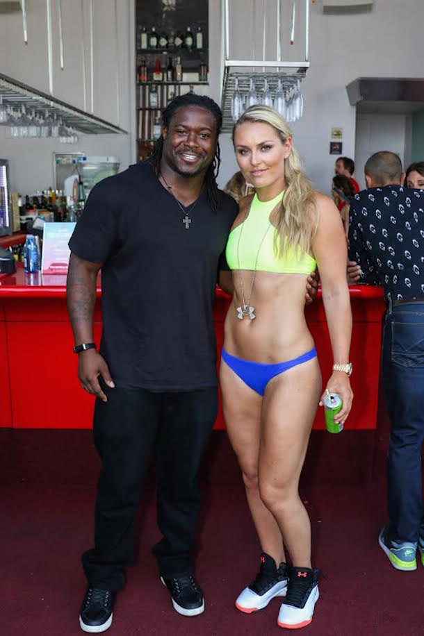 Lindsey Vonn Rooftop Pool Party Total Pro Sports