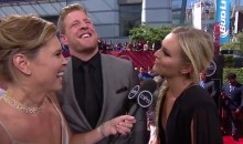 Lindsey Vonn Was Thirsty as Hell for J.J. Watt on the ESPYs Red Carpet (Video)