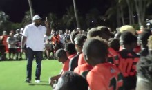 Ray Lewis Gives Epic Motivational Speech to Miami Football Recruits (Video)