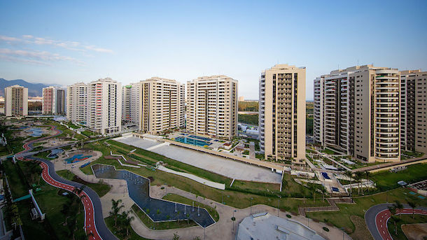 Rio 2016 Olympic Village Tour