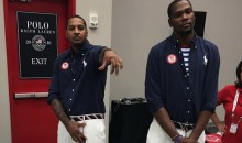 Team USA Very Careful Around Draymond Green; Melo, Durant Cover Their Crotch Just in Case