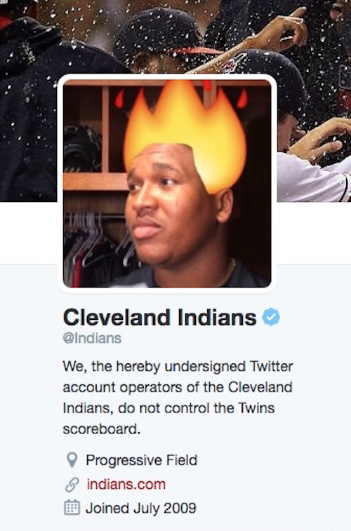 twins fooled indians respond