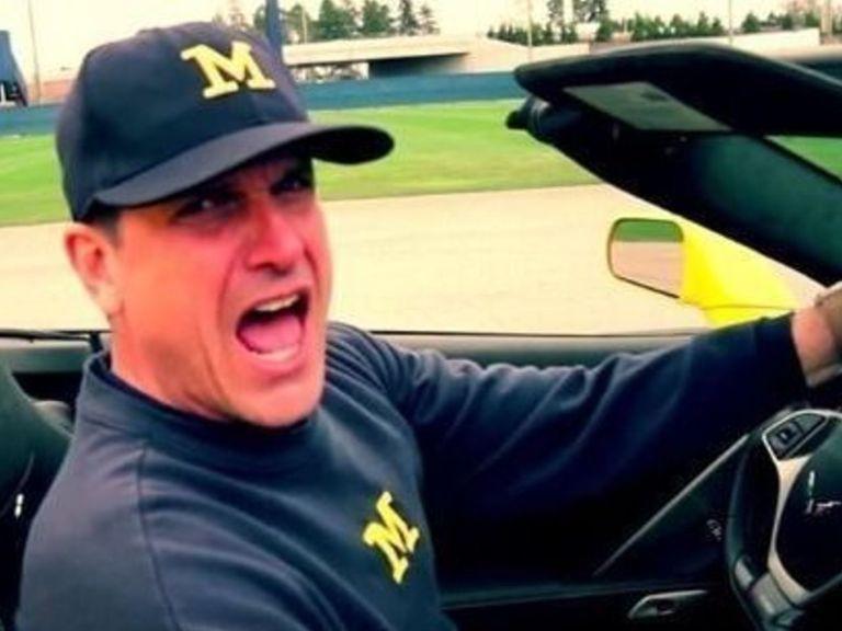 Jim Harbaugh appears in rap video