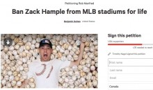 Fan petitions MLB to Ban Ballhawk Zack Hample From All Ballparks