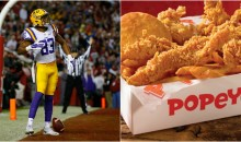 LSU WR Travin Dural Says Popeyes Chicken is To Blame For His 30lb Weight Gain