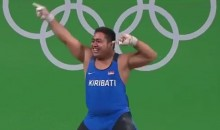 Olympic Weightlifter Has the Best Celebratory Dance…For a Good Cause (Video)