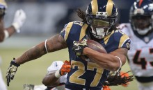 Tre Mason Found at Mother's Home Practicing Drills; Refuses To Report To Rams Camp