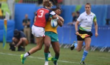 USA's Kathryn Johnson Delivers a Vicious Hit on Australian Player (Video)