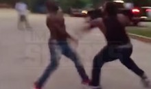 LSU's Leonard Fournette in Street Fight vs. Teammate? (Video)