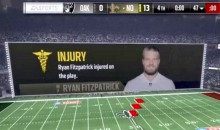 Hilarious Madden 17 Glitch Has Ryan Fitzpatrick Suffer Injury While Taking a Knee (Pic)