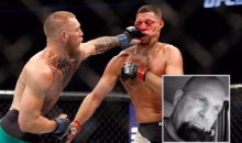 Nate Diaz Fan Goes on Rant About Conor McGregor Being Gifted a Win Over Diaz (Video)