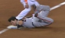 Buster Posey Shows the World a New, Painful Way to Slide into a Base (Video)