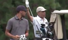 Steph Curry and President Obama Hit the Links Together…Again (Video)