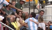 Fight Breaks Out in Stands During Olympics Tennis Match (Video)