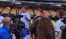 Will Ferrell Roasts Clayton Kershaw at Charity Ping-Pong Event (Video)