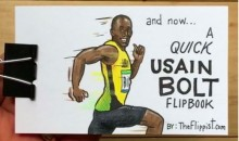 This Usain Bolt Flipbook on Instagram is Both Impressive and Hilarious (Video)