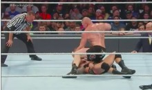 Brock Lesnar Went Crazy on Randy Orton, Splitting His Head Open, Requiring 10 Staples (Video)