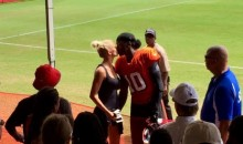 RGIII Shows Some PDA with the New GF After Browns Practice