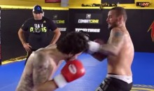 WWE Star CM Punk's Transition to the MMA Doesn't Look Like It's Going Well (Video)