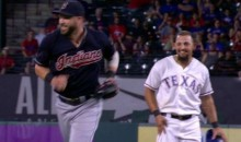 Jason Kipnis Squares Off With Rougned Odor…For a Joke (Video)