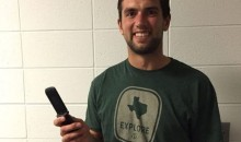 Of Course Andrew Luck Still Uses a Flip Phone (Pic)