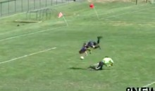 It's a Shame That This Superhuman Soccer Goal Didn't Count (Video)