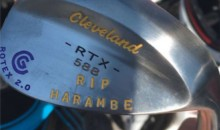 PGA Golfer Goes Clubs-Out for Harambe with Engraved Wedge (Pic)