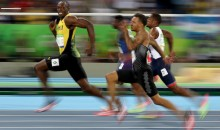 Usain Bolt Smiles For Cameras DURING 100-Meter Race in Rio, Becomes Internet Meme (Tweets)