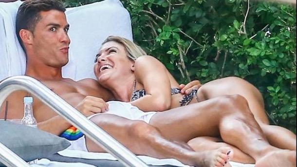 cristiano ronaldo dating instagram model cassandra davis