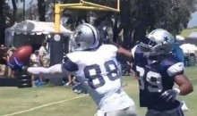 Dez Bryant Fights off Double Coverage To Make Spectacular One-Handed Catch (Video)