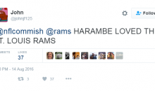 Roger Goodell Trolled on Twitter After He Tweeted The Wrong Rams Account
