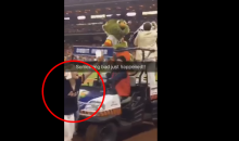 Female Astros Fan Gets Ran Over By a Golf Cart (Video)