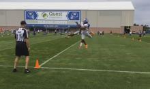 Giants CB Eli Apple Locks Down Victor Cruz During Training Camp (Video)