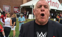 Ric Flair Says Julio Jones is The Greatest WR in The NFL; Calls out Josh Norman (Video)