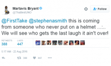 Martavis Bryant Calls Out Stephen A. Smith For Taking Shots at Him Helping Kids (Video)