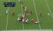 Tampa Bay Bucs Fumble on First Play of NFL Preseason (Video)