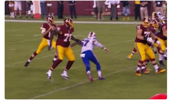 Worst 'Roughing The Passer' Call EVER?? (Video) | Total Pro