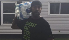 Former NBA Star Rasheed Wallace Brings Truckloads of Water To Flint (Video)