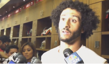 Kaepernick: 'This Country Stands For Freedom, Liberty, Justice For All..Not Happening For All Right Now' (Video)