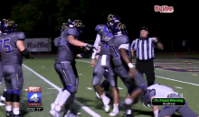 High School Running Back Kicks Opponent Who Stopped Him From Scoring (Video)