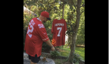 San Francisco 49ers Fans Burn Colin Kaepernick's Jersey (Video)