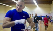 Georges St-Pierre Says He's Interested in Fight Against UFC Welterweight Champ Tyron Woodley