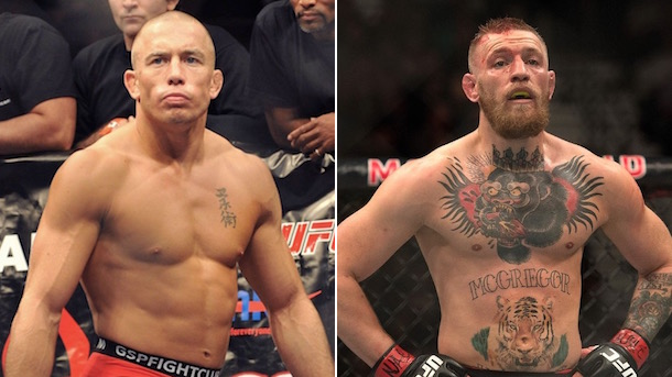 georges st-pierre vs conor mcgregor gsp-mcgregor