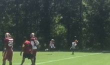 Self Proclaimed 'Best Cornerback On Earth' Josh Norman is Still Getting Embarrassed By DeSean Jackson In Practice (Video)