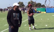 Kendrick Lamar and ScHoolBoyQ Show Up at Rams Training Camp, While Jets Get…Dennis Rodman? (Videos)